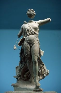 Nike of Peonios - at the Ancient Olympia Museum, Greece