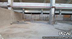 Obras en el Estadio