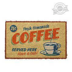 Balvi Deurmat 45 x 70 cm - Best Coffee