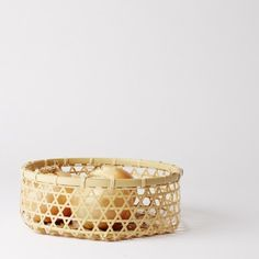 Mutsumu bamboo onion basket