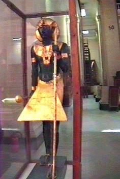 Cairo Egypt - Tutankhamun Cairo Egyptian Museum - King Tut Mask, Coffins and Jewelery of Tutankamun at the Egyptian Museum in Cairo.