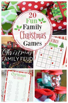 20 Fun Family Christmas Games – Fun-Squared