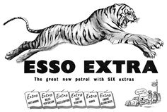 1953 Esso Extra ad | by totallymystified