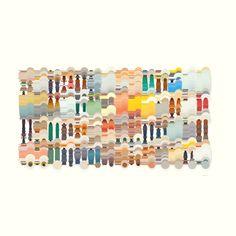 Processing / Java Generative Art Art Print by Paespedro - X-Small Code Art, Generative Art, Illustrations And Posters, Graphic Design Illustration, Art Inspo, Gallery Wall, Java, Art Art, Art Prints