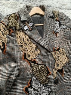 Wearable Art, Blazer, Boho, Jackets, Men, Fashion, Down Jackets, Moda, Fashion Styles