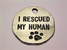 All rescued pets should wear one of these - I cannot imagine life without a dog :)