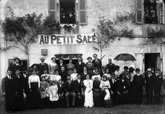 """Mariage """"Au Petit salé"""". Bfm Limoges http://www.bn-limousin.fr/items/show/242"""
