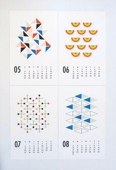 2014 wall calendar shapes by dozi on Etsy Design Poster, Design Art, Logo Design, Graphic Design Magazine, Magazine Design, Kalender Design, Photography Cheat Sheets, Art Calendar, Identity