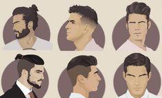 Os cortes de cabelo masculino mais populares – O guia! | SOS Solteiros
