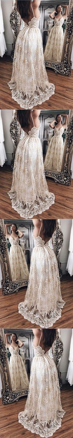 Champagne Lace With White Lining Prom Dresses,Princess Prom Dresses,Lace Prom Dresses,Evening Gowns,Women Dresses,Backless Prom Dresses, G016#prom #promdress #promdresses #longpromdress #promgowns #promgown #2018style #newfashion #newstyles #2018newprom #backless#lace#champagne#eveninggown