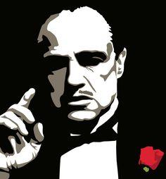 Marlon Brando  Acryl 50-60  € 210,00