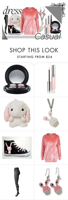 """""""Snow Bunny"""" by alyglows on Polyvore featuring MAC Cosmetics, By Terry, Sweet & Co., HVBAO, Smartwool and tarte"""