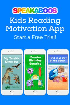 Make reading your child's #1 choice by turning screen time into reading time! Start a trial today!