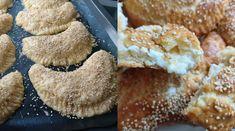 Γκόλφω Νικολού : H συνταγή για τυροπιτάκια κουρού που έγινε ανάρπαστη Pastry Cake, Feta, Muffin, Lunch, Cookies, Breakfast, Desserts, Crack Crackers, Morning Coffee