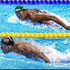 """One of my favorite quote in one picture: """"Winners focus on winning. Losers focus on winners."""" #Rio2016 #Phelps #thebest #champion"""