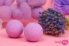 Lavender balls for bath DIY - tutorial on twojediy.pl