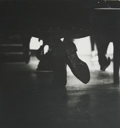 LEITER, Saul John Cage, c.1949 14 x 11 inches Gelatin silver print; printed later