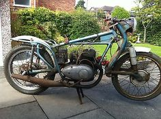 1956 Follis 250 Barn Find Motorcycle