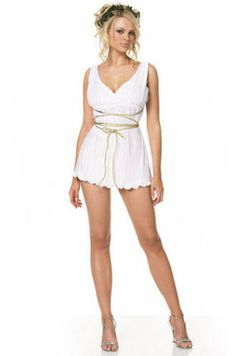 Image result for fantasias deusa grega curta