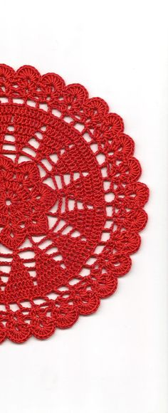 Vintage Handmade Crochet Doily Lace Lacy Doilies Wedding
