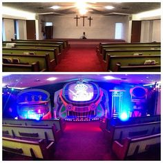 Word of Life AG - Laurinburg, NC Great week, sharing the Gospel with the families around #LaurinburgNC here's a before/after shot of our invasion at Word Of Life A/G #KidzTurnChurchMakeover