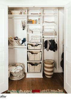 California Closets Before U0026 After Client Story. A Modern And Clean Childu0027s  ...