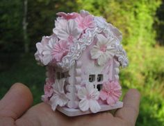 Fairy House Gnome House Gnome Home Miniature House by FairyHouse18