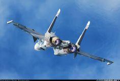 Russian Navy Sukhoi Su-30SM  38 BLUE (cn 10MK51202) Thrust vectoring in action