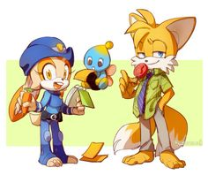 This is just perfect. While I may not support Tails and Cream together, I do support the ship they're cosplaying as which is Judy Hopps and Nick Wilde from Zootopia, or WildeHopps.
