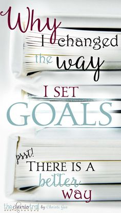 Here's a little of what I learned about goal setting and planning. Go beyond New Year resolutions. This is real change by God's power. Combine Bible study with grace goals and the result is revolutionary change.