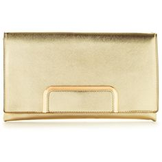 V By Very Metallic Clutch Bag ($21) ❤ liked on Polyvore featuring bags, handbags, clutches, metallic handbags, metallic purse, metallic clutches, beige handbags and beige purse