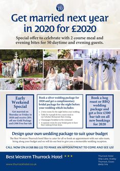 The Thurrock Hotel Looking to get married in 2020 , we have some fantastic offers available . Wedding Fayre, Lodge Wedding, Newland Hall, Got Married, Getting Married, Gosfield Hall, Wedding Venues Essex, Colchester Essex, Hotel Specials