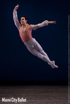A tour de force performed worldwide, Balanchine's thrilling Tschaikovsky Pas de Deux completes our momentous Program III: Triple Threat.  Dancer Renato Penteado.