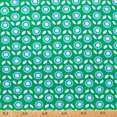 De Stoffige Juffrouw - hippe & retro stoffen, patronen en fournituren online - Hamburger Liebe - Daisy bio-interlock Fabric Patterns, Print Patterns, Retro, Homemade, Florals, Fabrics, Costumes, Vintage, Nice