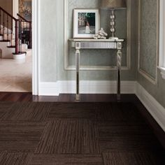 Buy Lacebark-Espresso carpet tile by FLOR