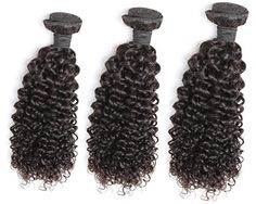 OneDor Virgin Brazilian Afro Remy Human Hair Extensions Unprocessed Natural Black Hair Weft Hair Weaving 100gBundle 3 Bundles Deal 182022 Curly Wave *** Check the link at the image. Amazon Affiliate Program's Ads.