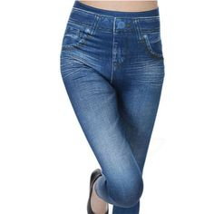Cheap jeggings leggings, Buy Quality jeggings jeans directly from China winter jeggings Suppliers: New Slim Stretchy High Waist Thick Jegging Jean Womens Stylish Skinny Pencil Pants Fleece Lined Winter Jeggings Leggings Jeans Denim, Slim Jeans, Skinny Jeans, Velvet Leggings, Tight Leggings, Jeans Leggings, Tights, Jeggings, Elastic Jeans