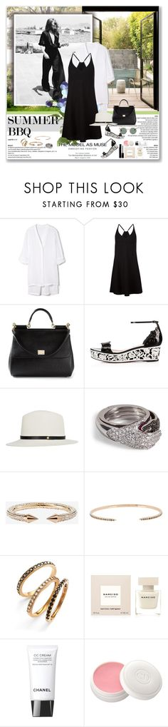 """""""Summer BBQ"""" by stellaasteria ❤ liked on Polyvore featuring Helmut Lang, ATM by Anthony Thomas Melillo, Dolce&Gabbana, Christian Louboutin, rag & bone, Delfina Delettrez, Vita Fede, Dezso by Sara Beltrán, Judith Jack and Chanel"""