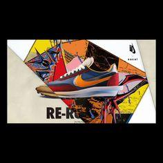 SACAI X NIKE GLOBAL GRAPHIC CAMPAIGN 2019 Kazuhiro Aihara #SACAI #NIKE #SWOOSH #LDWAFFLE #KAZUHIROAIHARA #LOGO #GRAPHICDESIGN#相原一博 Nike Campaign, Graphic Design, Logo, Artwork, Advertising, Collage, Bedroom, Sneakers, Tennis