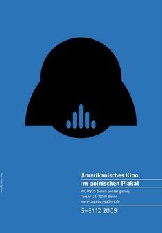 American Movie in Polish Poster Amerikanisches Kino im polnischen Plakat Homework Joanna Gorska Jerzy Skakun Polish Poster