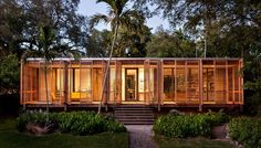 An Architect's Own Tropical Refuge by Brillhart Architecture