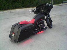 Harley stretch baggers
