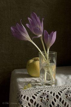"""Still Life -  """"Remembering the autumn."""" by Elena Kolesneva"""