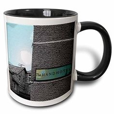 Jos Fauxtographee Realistic - Entrance to Hand Hotel in Wales That Is Hundreds of Years Old, Textured in Black and White and Color - 11oz Two-Tone Black Mug (mug_44654_4) 3dRose http://www.amazon.com/dp/B013527N9U/ref=cm_sw_r_pi_dp_7iHAwb0JMJACX