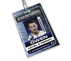 Hand/Fan made Jurassic World ID Badges. 3 versions available for only $7ea as well as a custom option for $10. If you would like a custom, please email us a high resolution photo as well as the name you want on the badge. *Lanyard NOT included.*FYI we are in no way associated with Jurassic World or Universal...we are just HUGE Jurassic Fans. :)