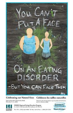 """""""You can't put a face on an eating disorder."""""""