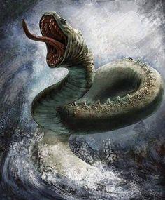 Midgårdsormen, The midgard serpent