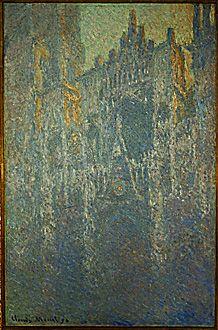 La Cathedrale de Rouen, in the Fog, 1893, Claude Monet