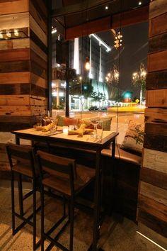 cucina urbana, san diego, ca Cafe Bistro, Cafe Bar, Cafe Restaurant, Restaurant Design, Bistro Design, Pub Stools, Espresso Bar, Retail Design, Shops