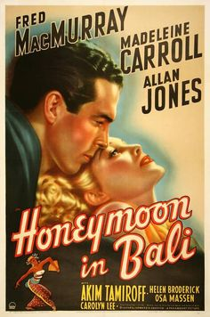 Film poster bali 1939